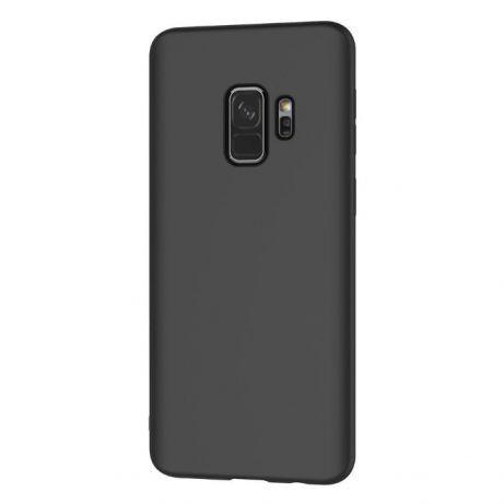 Samsung S9 S9 Plus - Husa Ultra Slim 0.3mm Din Silicon Neagra, Black