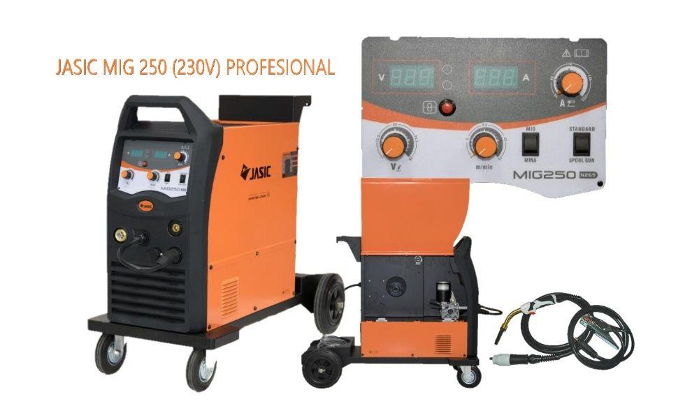 Aparat sudura Heavy Duty JASIC MIG-MAG 250 ( N292)