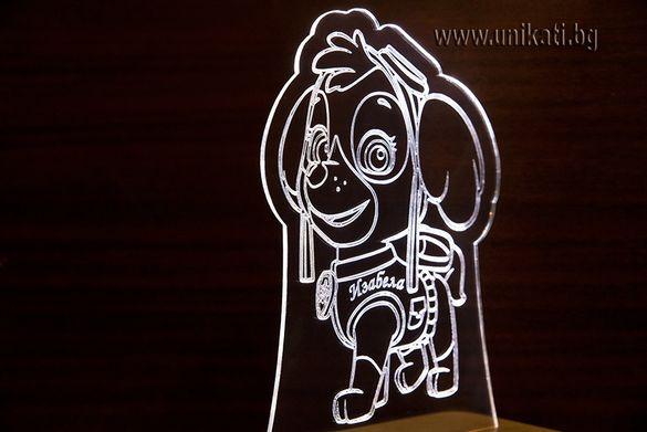 Детска настолна лампа - Пес Патрул/Paw Patrol
