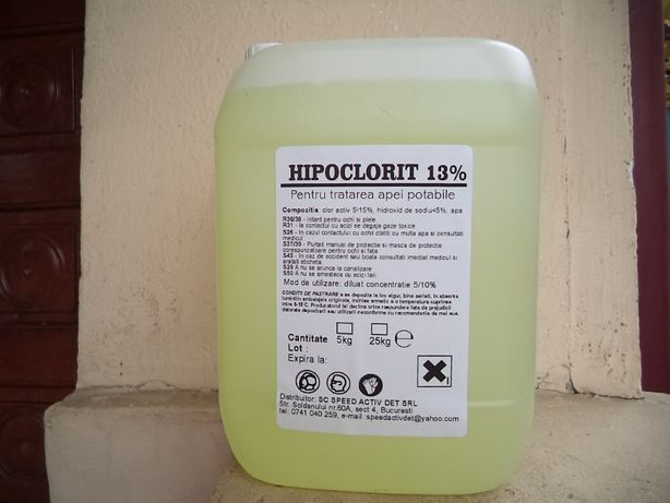 Hipoclorit de sodiu 12.5%-15%