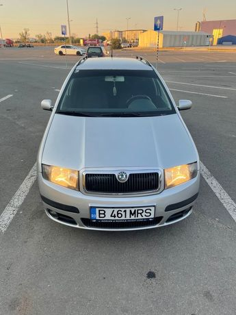Skoda Fabia 1,2 2006 Gpl+Benzina Euro 4
