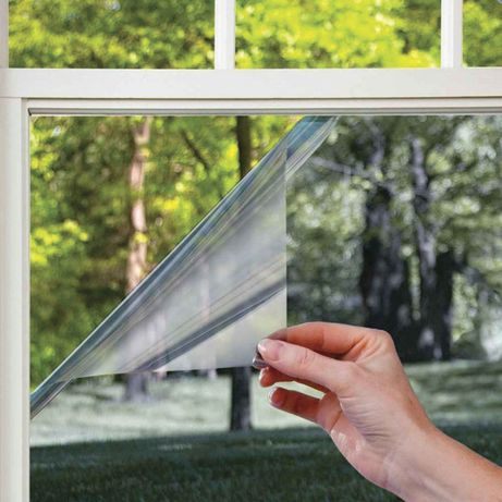 FOLIE de PROTECTIE- Solara (oglinda) pt. geamurile casei/cladirii dvs!