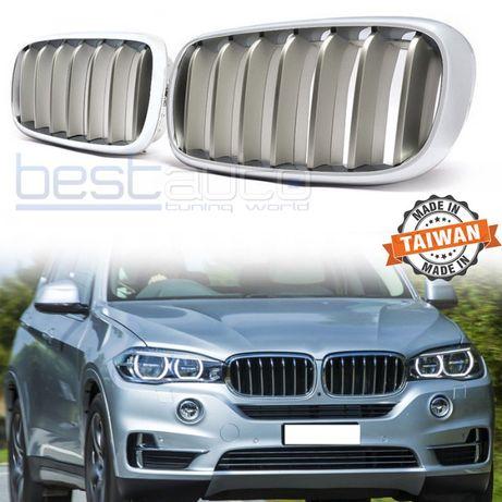 Бъбреци/решетки за BMW X5 F15 BMW X6 F16/БМВ Ф15 Ф16 Х5 Ж6 Хром / Сиви