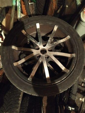 Алуминиеви джанти с гуми (17 цола)