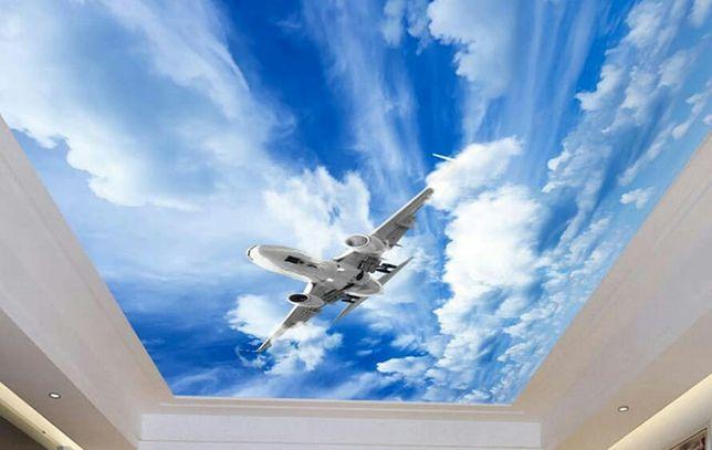 Натяжные потолки 1000 качественным материалом