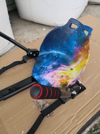 Hoverkart blue satelit scaun pentru hoverboard
