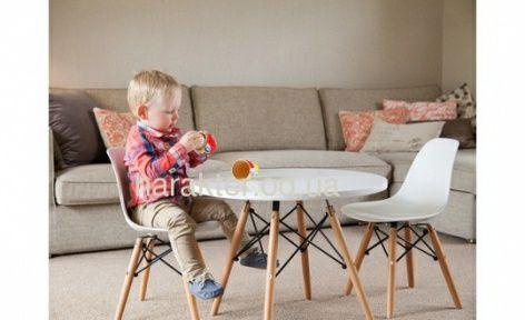 Скандинавские пластиковые стулья детские