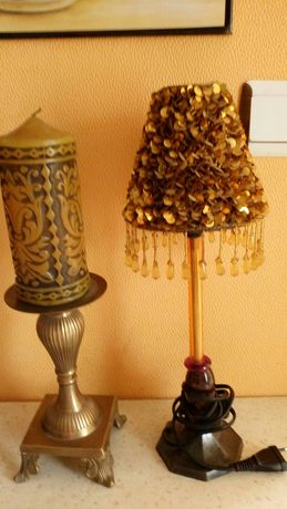 НЕМСКА, Много красива и ефектна ,старинна лампа