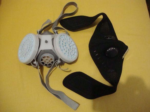 Маска за колоездени и противогазна маска на 20лв