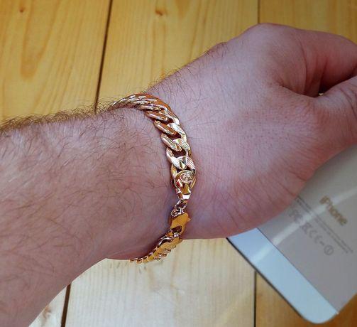 Роскошный браслет мужской в стиле Bylgari