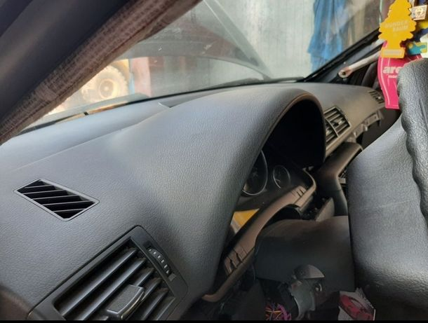 Plansa bord Negru/Gri/Albastru Audi A4 B6 B7 Airbag volan Stanga