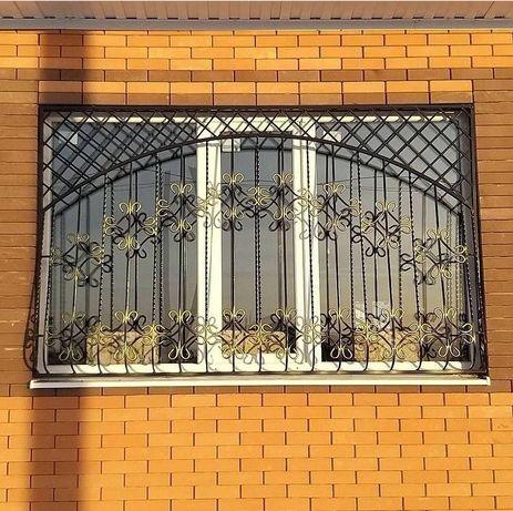 Решётки на окна, защита от выпадения детей  Алматы