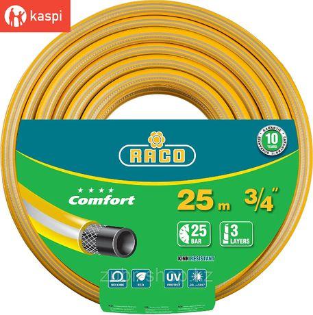 """RACO COMFORT 3/4"""", 25 м, 25 атм, трёхслойный поливочный шланг"""