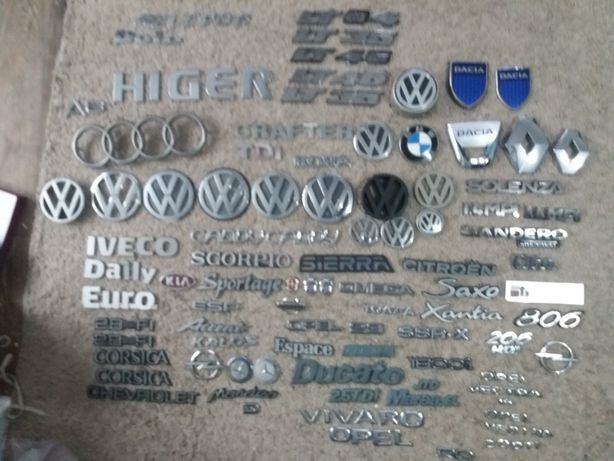 Emblema Logan Sandero Renault Vw Opel Fiat Ford Iveco Kia Bmw Audi...
