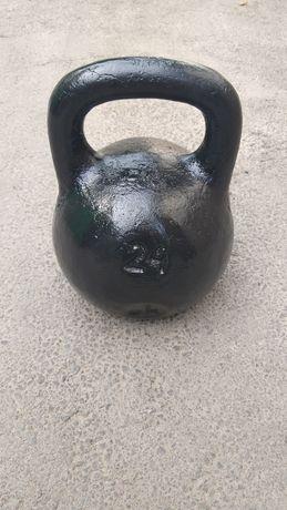 Гиря 24 кг. гантеля