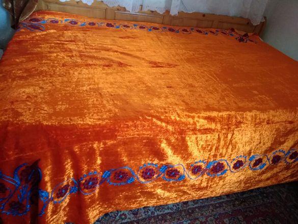 Покривка за спалня плюш