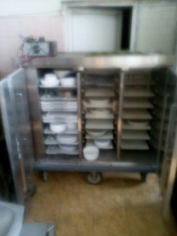 Количка за индукционно подгряване на храна / Ресторантско оборудване