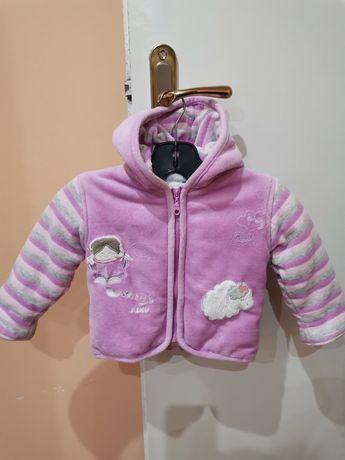 Детско топло палтенце