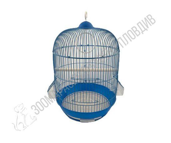 Клетка за Птици - Кръгла - 58х34см + КОМПЛЕКТ !