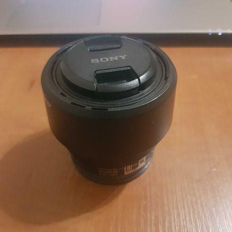 Объектив Sony FE 50mm F1.8 full frame