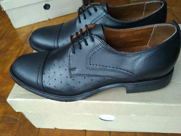 Летни кожени обувки