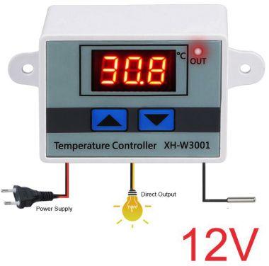 Controler de temperatura, (-50 ~110°C) pt. automatizari - 12V c.c - 12