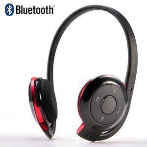 Casti Bluetooth stereo BT cu microfon cu incarcare pe USB ! casa