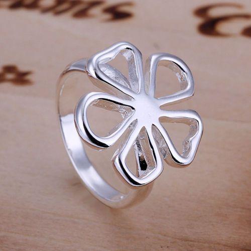 ARG5,inel argint 925,nou/marcat,masiv, floare mare,reducere 30% Timisoara - imagine 1