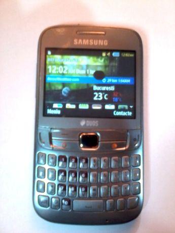 Telefon Samsung Chat 3572 dual sim gri, pentru piese