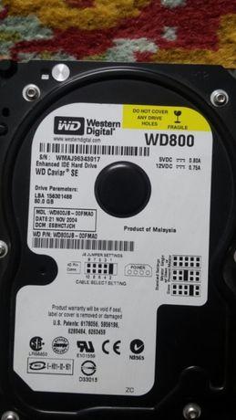 Hard WD 80 Gb