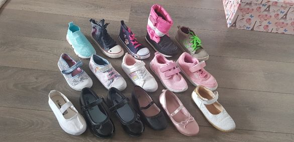 Детски обувки- маратонки, кецове, балеринки и апрески за момиче - 30