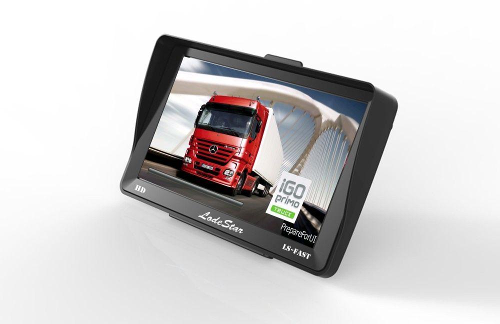 "GPS 7""HD harti iGO Primo Europa 2021 setari pentru Camion/Camioane/TIR"