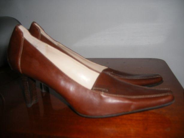Pantofi dama piele noi ANNE KLEIN 39 maro