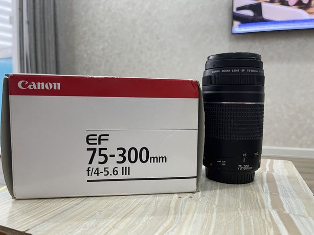 Обьектив Canon 75-300mm