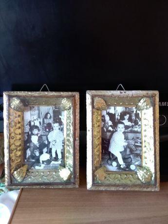 Tablouri poze copii cu jucării vechi