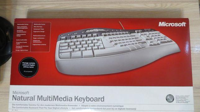 Клавиатура Microsoft Natural Multimedia Keyboard