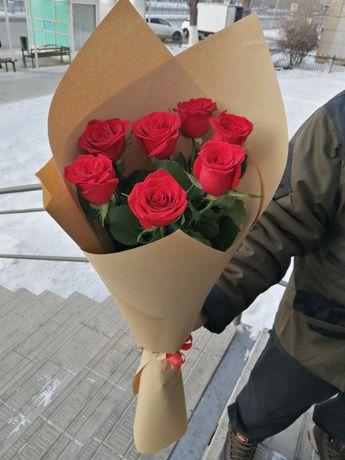Бесплатная доставка цветов по городу Щучинск