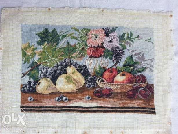 Goblen Fructe si Flori