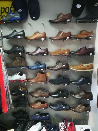 Vand pantofi noi din piele, romanesti, ptr barbati, marimi diferite.