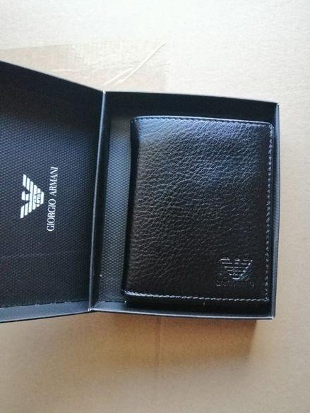 Мъжко портмоне Giorgio Armani 100% естествена кожа!