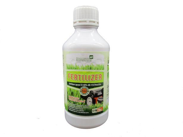 Fertilizant complet sub forma concentrata, pentru gazon, 1l