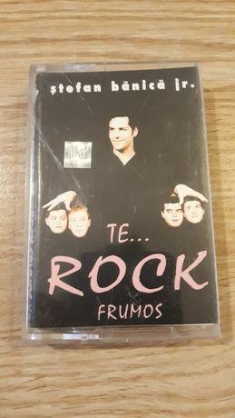 """Caseta audio Ștefan Bănică Jr album: ,, The Rock Frumos"""""""