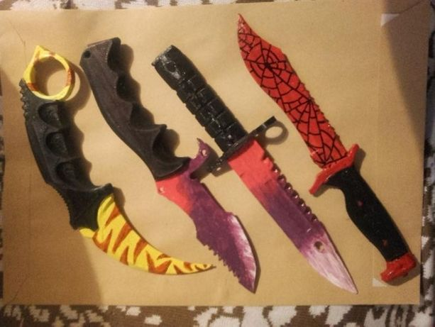 survival bowie knife, default ct knife, gut knife