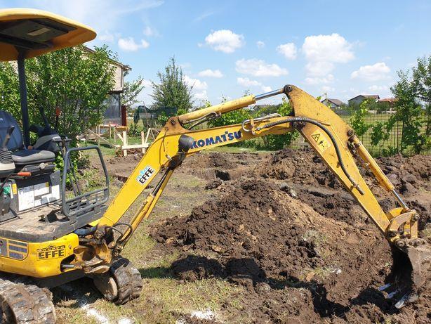 Inchiriez miniexcavator, excavator