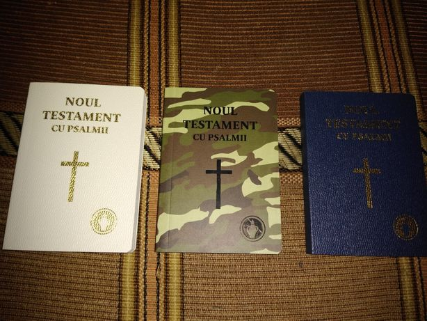Noul Testament de buzunar(pt cadre medicale, militari, polițiști )