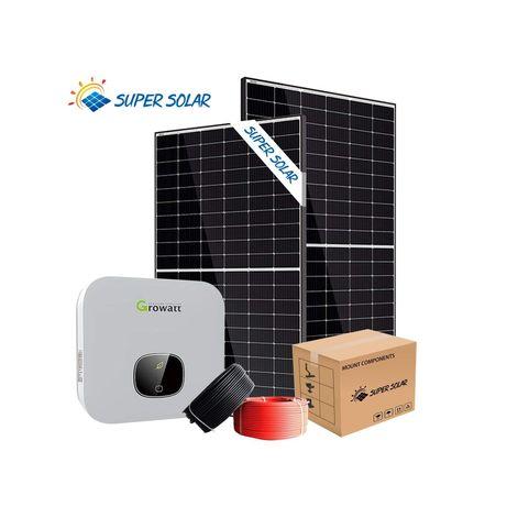Kit Complet Curent Electric Panou Solar 300W +controler Ofer Montaj 21
