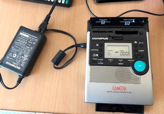 Imprimanta foto digitala portabila termica OLYMPUS CAMEDIA P-200