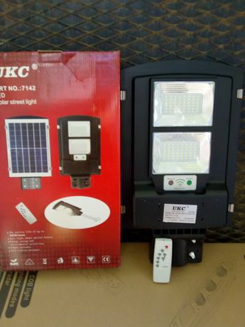 ПРОМО! Лед соларна лампа LED COBRA 115/230/345W НОВА