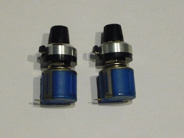 Potentiometru multitura BOURNS 3540S-1-102 cu buton demultiplicator