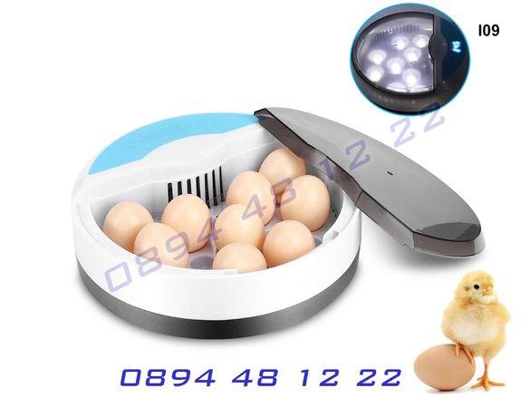 Инкубатор 9 Птичи Яйца Овоскоп Люпилня Пилета Яйце Пиле Инкобатор